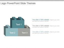Lego Powerpoint Slide Themes