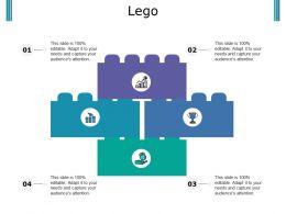 Lego Ppt Portfolio Design Inspiration