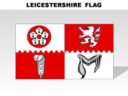 Leicestershire Country Powerpoint Flags