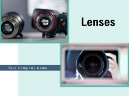 Lenses Storage Individual Binocular Corrective Videography