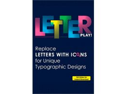 Letter Play! Replace Letters with Icons for Unique Typographic Designs