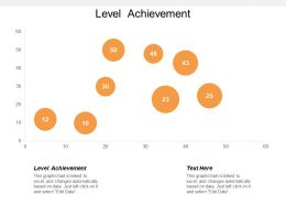 Level Achievement Ppt Powerpoint Presentation Gallery Demonstration Cpb