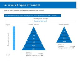 Levels And Span Of Control Assuming Ppt Powerpoint Presentation Model Background Designs