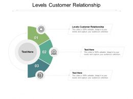 Levels Customer Relationship Ppt Powerpoint Presentation Infographic Template Cpb