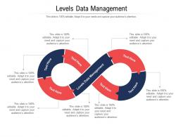Levels Data Management Ppt Powerpoint Presentation Slides Example Cpb