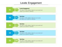 Levels Engagement Ppt Powerpoint Presentation Ideas Example Cpb
