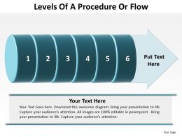 Levels Of A Procedure Or Flow 6 Stages 25