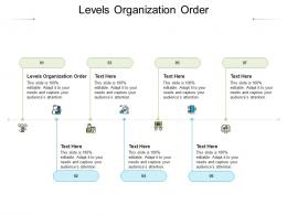 Levels Organization Order Ppt Powerpoint Presentation Professional Example Introduction Cpb