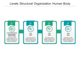 Levels Structural Organization Human Body Ppt Powerpoint Presentation Layouts Graphics Cpb