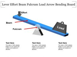 Lever Effort Beam Fulcrum Load Arrow Bending Board