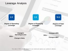 Leverage Analysis Business Ppt Styles Design Inspiration