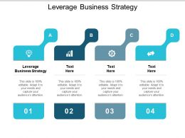 Leverage Business Strategy Ppt Powerpoint Presentation Styles Mockup Cpb