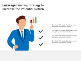 Leverage Funding Strategy To Increase The Potential Return