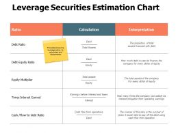 Leverage Securities Estimation Chart Equity Multiplier Ppt Powerpoint Presentation Professional