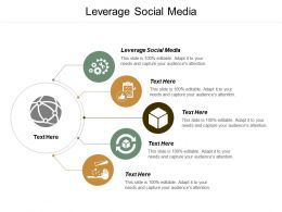 Leverage Social Media Ppt Powerpoint Presentation File Smartart Cpb