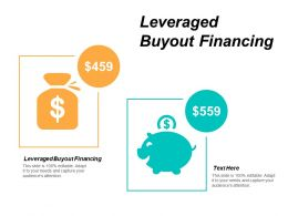 Leveraged Buyout Financing Ppt Powerpoint Presentation Show Background Cpb