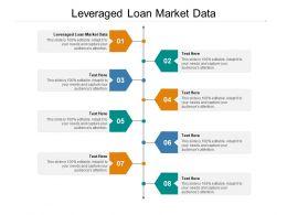 Leveraged Loan Market Data Ppt Powerpoint Presentation Model Show Cpb