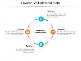 Levered Vs Unlevered Beta Ppt Powerpoint Presentation Show Pictures Cpb