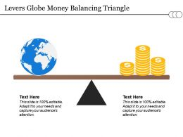 Levers Globe Money Balancing Triangle