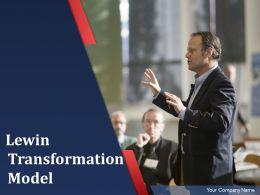 Lewin Transformation Model Powerpoint Presentation Slides