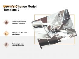 Lewins Change Model Motivated Ppt Powerpoint Presentation Portfolio Smartart