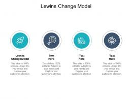Lewins Change Model Ppt Powerpoint Presentation Layouts Gridlines Cpb