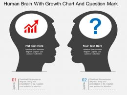 li_human_brain_with_growth_chart_and_question_mark_flat_powerpoint_design_Slide01