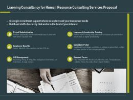 Liaoning Consultancy For Human Resource Consulting Services Proposal Ppt Grid