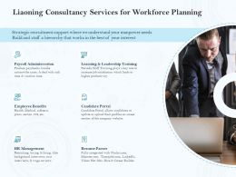 Liaoning Consultancy Services For Workforce Planning Ppt Powerpoint File