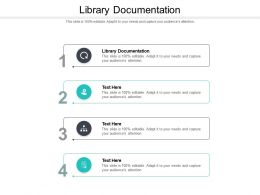 Library Documentation Ppt Powerpoint Presentation Ideas Objects Cpb