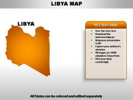 Libya Country PowerPoint Maps