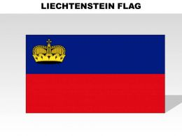 Liechtenstein Country Powerpoint Flags