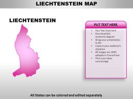 Liechtenstein Country PowerPoint Maps