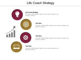 Life Coach Strategy Ppt Powerpoint Presentation Inspiration Introduction Cpb