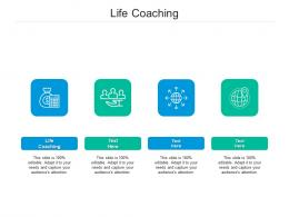 Life Coaching Ppt Powerpoint Presentation Pictures Example Topics Cpb