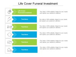 Life Cover Funeral Investment Ppt Powerpoint Presentation Summary Slide Download Cpb