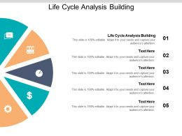 Life Cycle Analysis Building Ppt Powerpoint Presentation Styles Maker Cpb