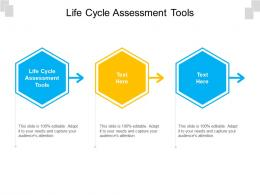 Life Cycle Assessment Tools Ppt Powerpoint Presentation Gallery Format Cpb