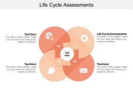 Life Cycle Assessments Ppt Powerpoint Presentation Gallery Clipart Images Cpb