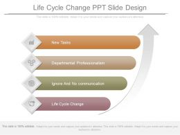 Life Cycle Change Ppt Slide Design