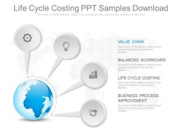 Life Cycle Costing Ppt Samples Download
