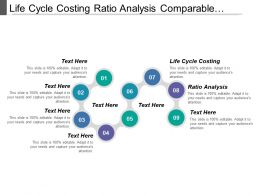 Life Cycle Costing Ratio Analysis Comparable Travel Sensitivity Analysis