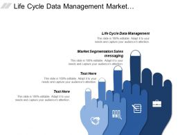 Life Cycle Data Management Market Segmentation Sales Messaging