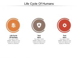 Life Cycle Of Humans Ppt Powerpoint Presentation Ideas Example Introduction Cpb