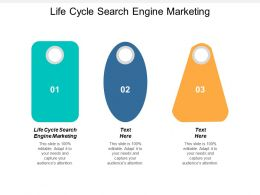 Life Cycle Search Engine Marketing Ppt Powerpoint Presentation Slides Designs Cpb
