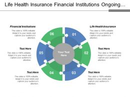 Life Health Insurance Financial Institutions Ongoing Services Lifestyle Choices