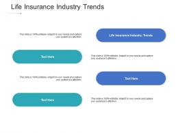 Life Insurance Industry Trends Ppt Powerpoint Presentation Layout Cpb