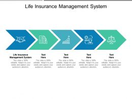 Life Insurance Management System Ppt Powerpoint Presentation Show Example Cpb