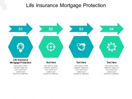 Life Insurance Mortgage Protection Ppt Powerpoint Presentation Inspiration Mockup Cpb