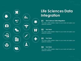 Life Sciences Data Integration Ppt Powerpoint Presentation Template